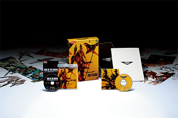 Zone of the Enders HD Edition bundle for PS3 and Xbox 360 (Kojima, Konami)