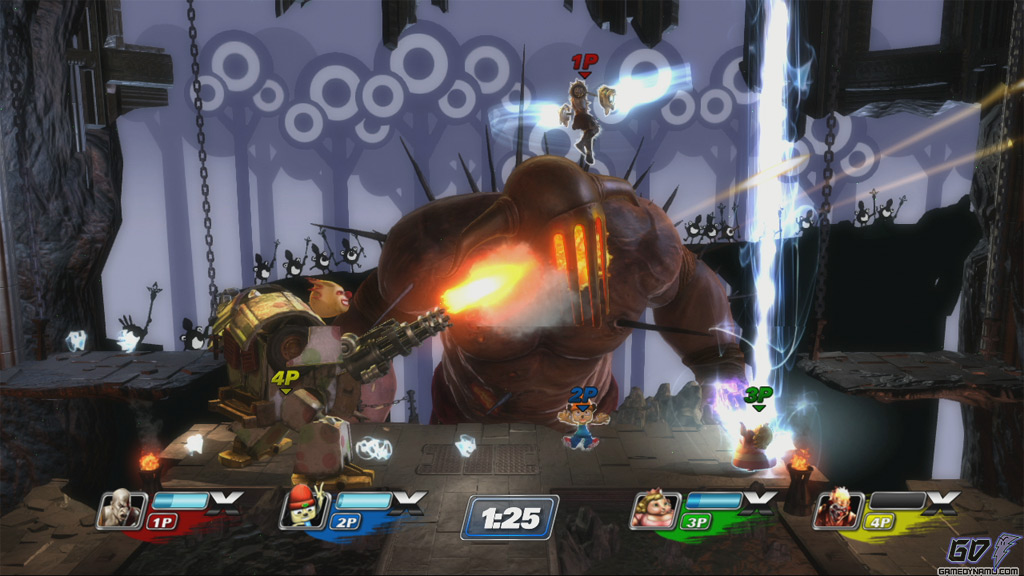 PlayStation All-Stars Battle Royale screenshots for Sony PS3 (PlayStation, Smash Bros., SuperBot)