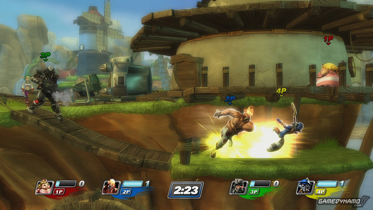 PlayStation All-Stars Battle Royale (PS Vita, PS3) Hands-On Preview Screenshots
