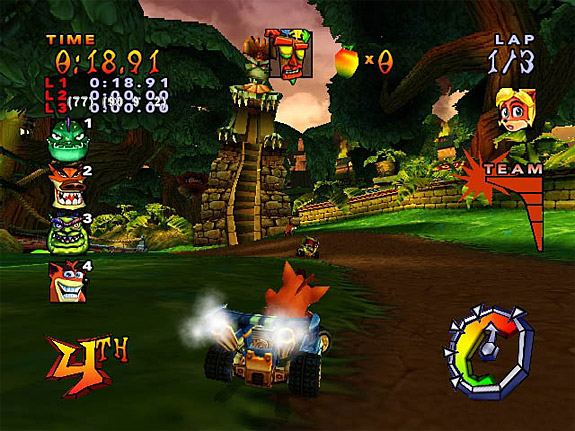 10 Underrated / Undersold Video Games - Crash Team Racing