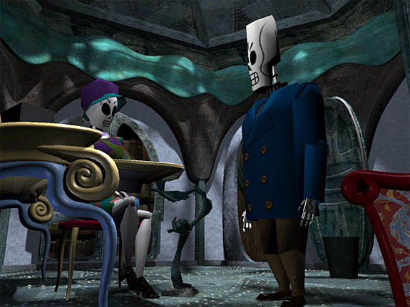 10 Underrated / Undersold Video Games - Grim Fandango