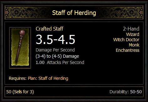 Diablo III Guide - Easter Eggs: Staff of Herding