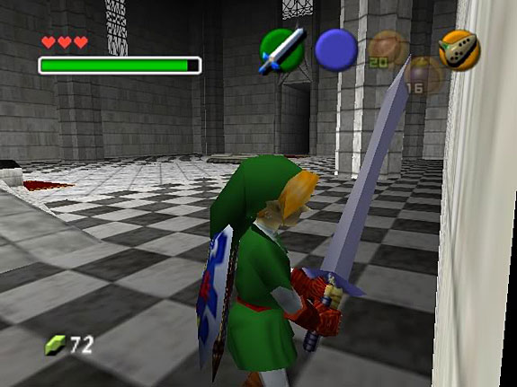 Top 10 Big Freakin' Swords in Video Games - Biggoron Sword, Legend of Zelda: Ocarina of Time (N64 / 3DS)