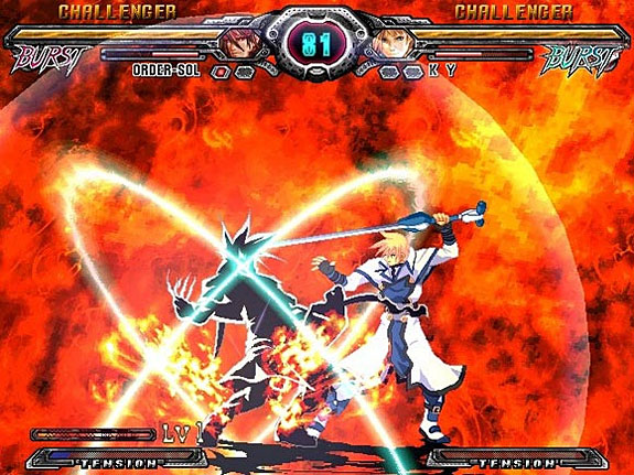 Four Favorite Fighting Game Mechanics - Guilty Gear XX – Burst