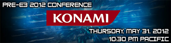 Konami Pre-E3 Press Conference: Announcements & Highlights