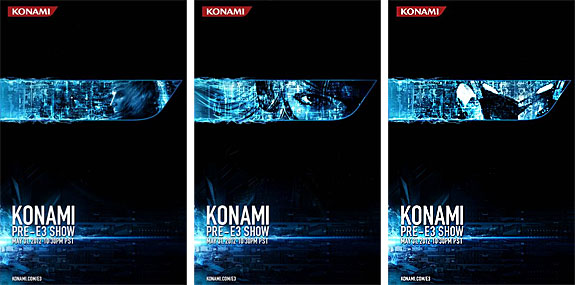 Konami Pre-E3 Press Conference: Teaser Posters (Castlevania, MG Rising: Revengeance, and...)