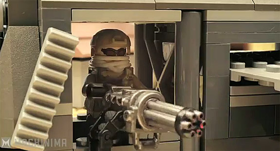 Cool Video: Ghost Recon Future Soldier trailer made out of LEGO bricks!