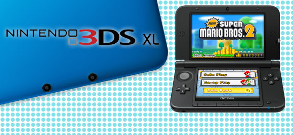 Hands-On with the 3DS XL: Entertainment at Large