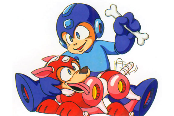 Top 10 Video Game Sidekicks - Rush (Mega Man)