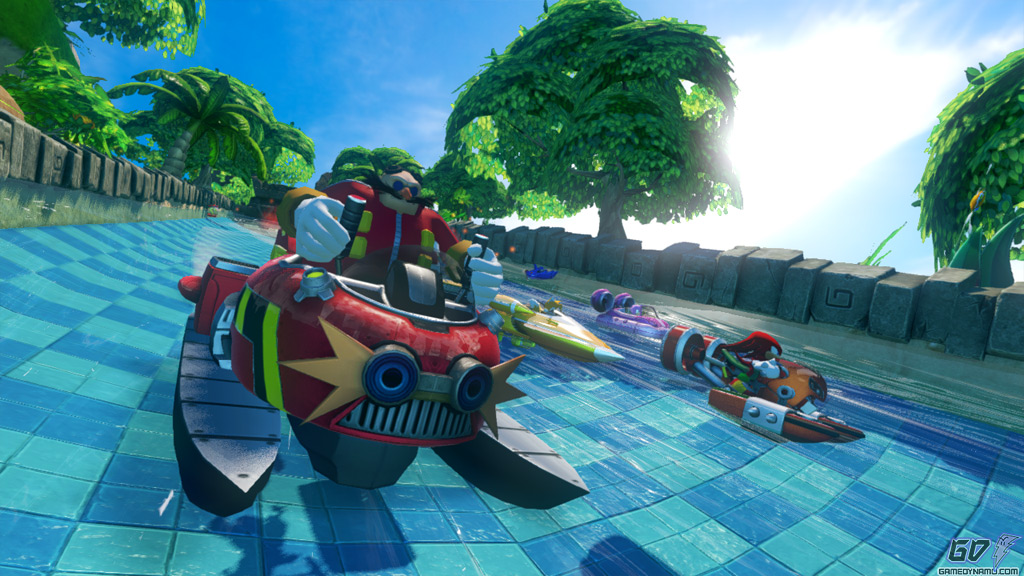 Sonic and Sega All-Stars Racing Transformed (PC, PS3, Xbox 360,PS Vita ,Wii U) Hands-On Preview Screenshots