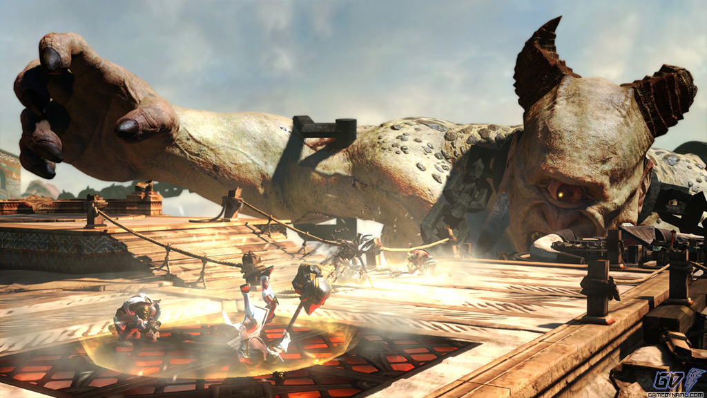 God of War: Ascension multiplayer mode screenshots (PS3, Sony, Santa Monica Studio)