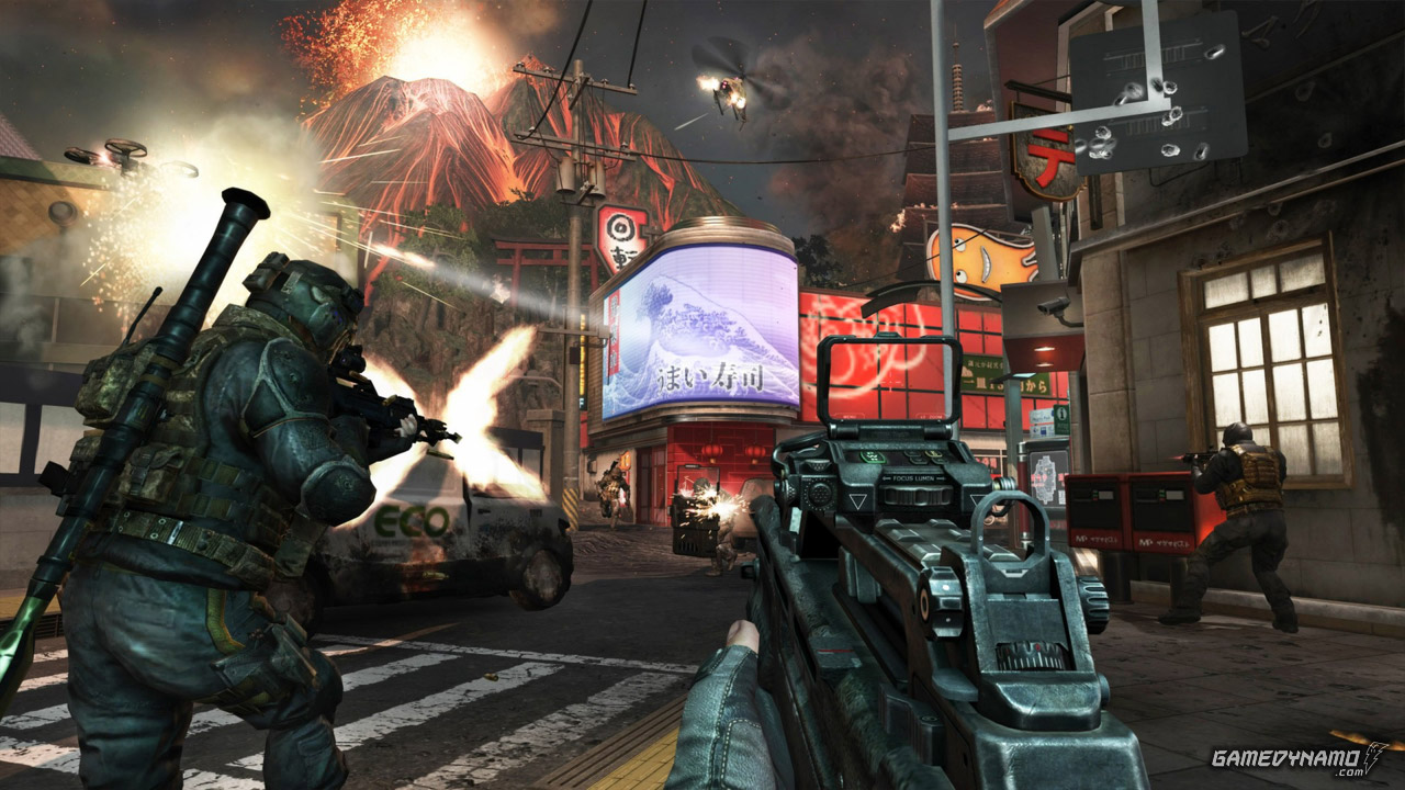 Call of Duty Black Ops II - Uprising DLC Review Screenshots