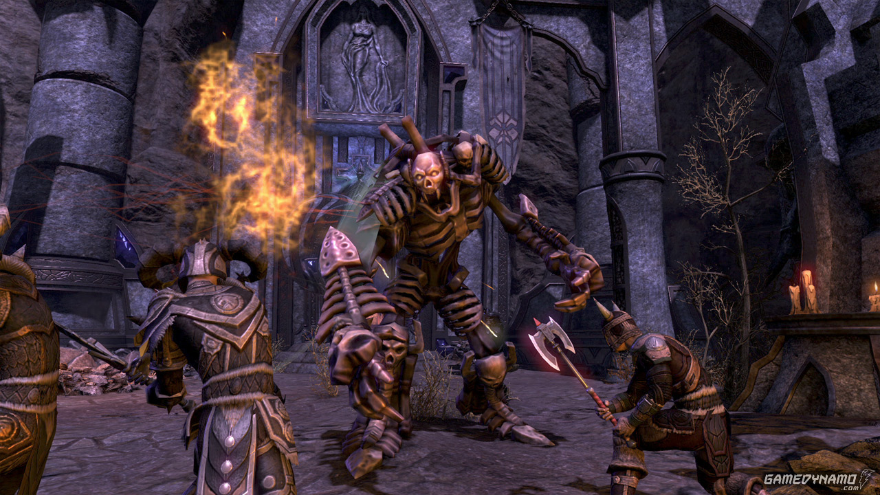The Elder Scrolls Online nine-minute introduction trailer and screenshots
