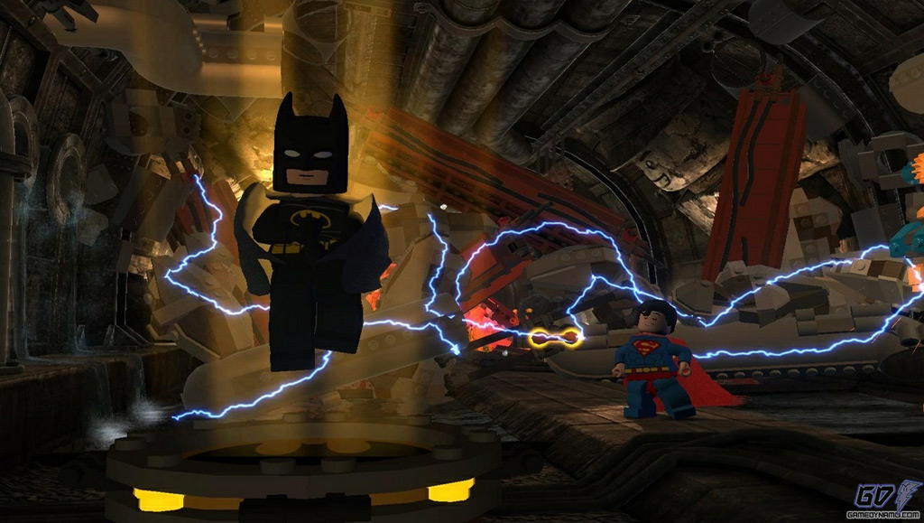 LEGO Batman 2: DC Super Heroes (PS3, Xbox 360, 3DS, DS/DSi, Wii, PS Vita)  Preview Screenshots