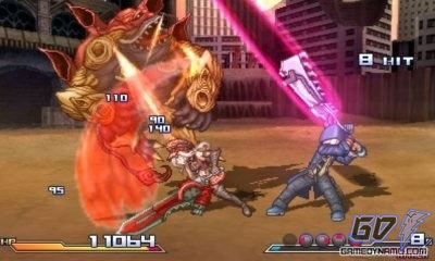 Project X Zone (3DS) Preview Screenshots