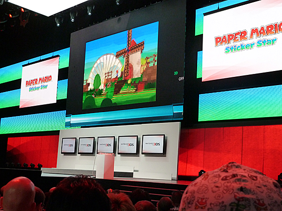 E3 2012: Nintendo Press Conference - Highlights, Images, and Videos - Paper Mario: Sticker Star