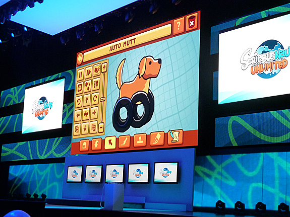 E3 2012: Nintendo Press Conference - Highlights, Images, and Videos - Scribblenauts Unlimited