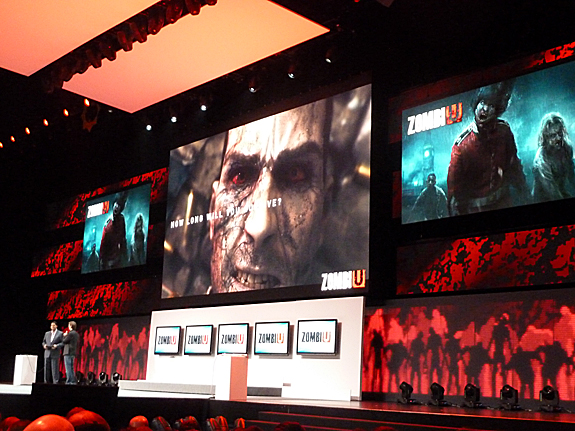 E3 2012: Nintendo Press Conference - Highlights, Images, and Videos - ZombiU
