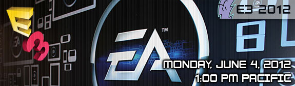 E3 2012: Electronic Arts Press Conference - Where to Watch Live Stream