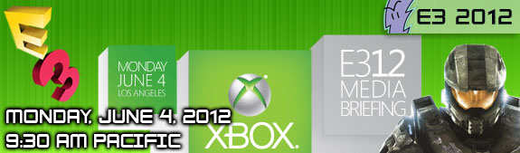 E3 2012: Microsoft Press Conference - Where to Watch Live Stream; Event Highlights