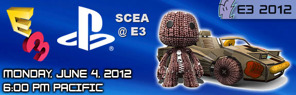 E3 2012: Sony Press Conference - Where to Watch Live Stream; Event Highlights