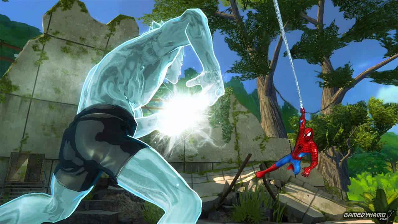 Marvel The Avengers: Battle for Earth screenshots (Ubisoft, Wii U, Xbox 360)