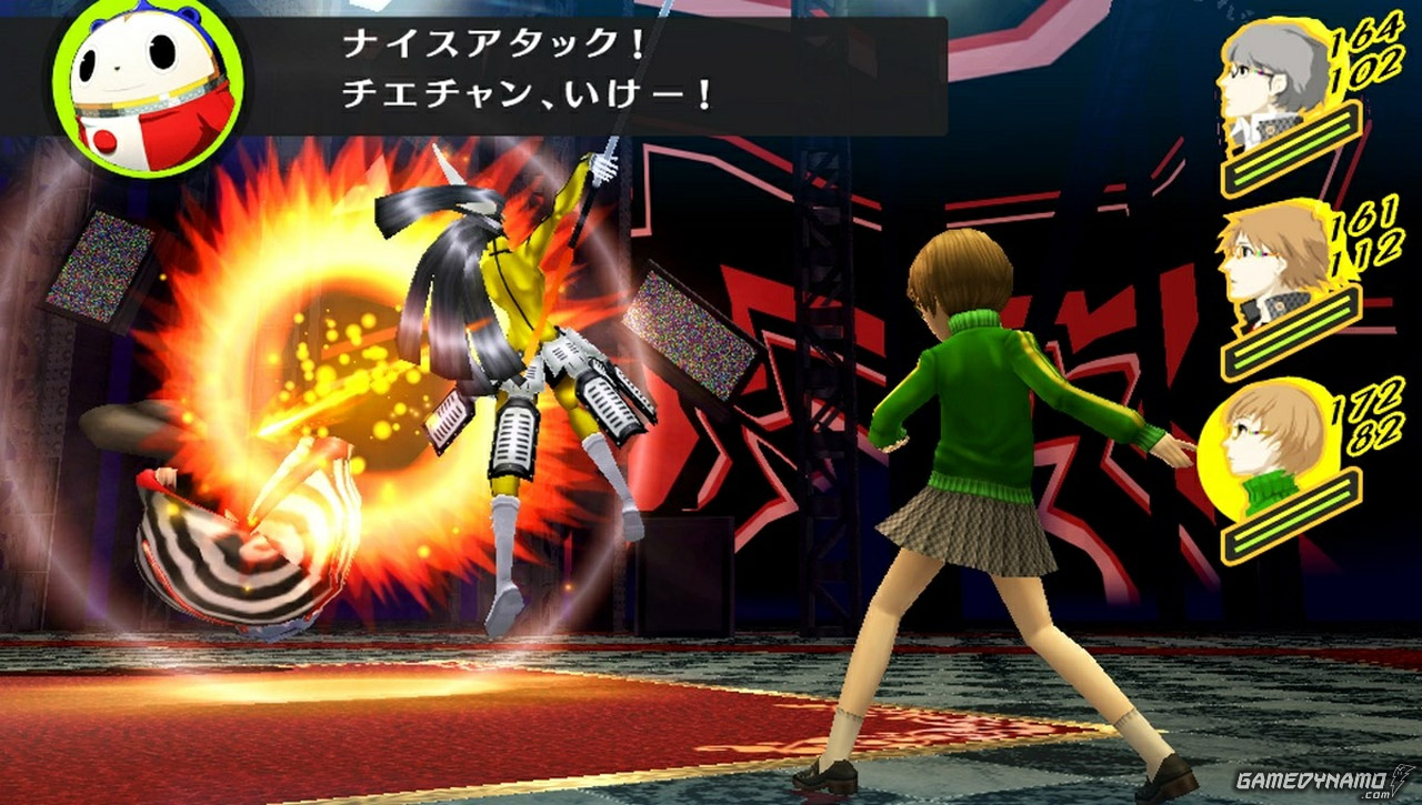 Persona 4 Golden (PS Vita) Hands-On Preview Screenshots