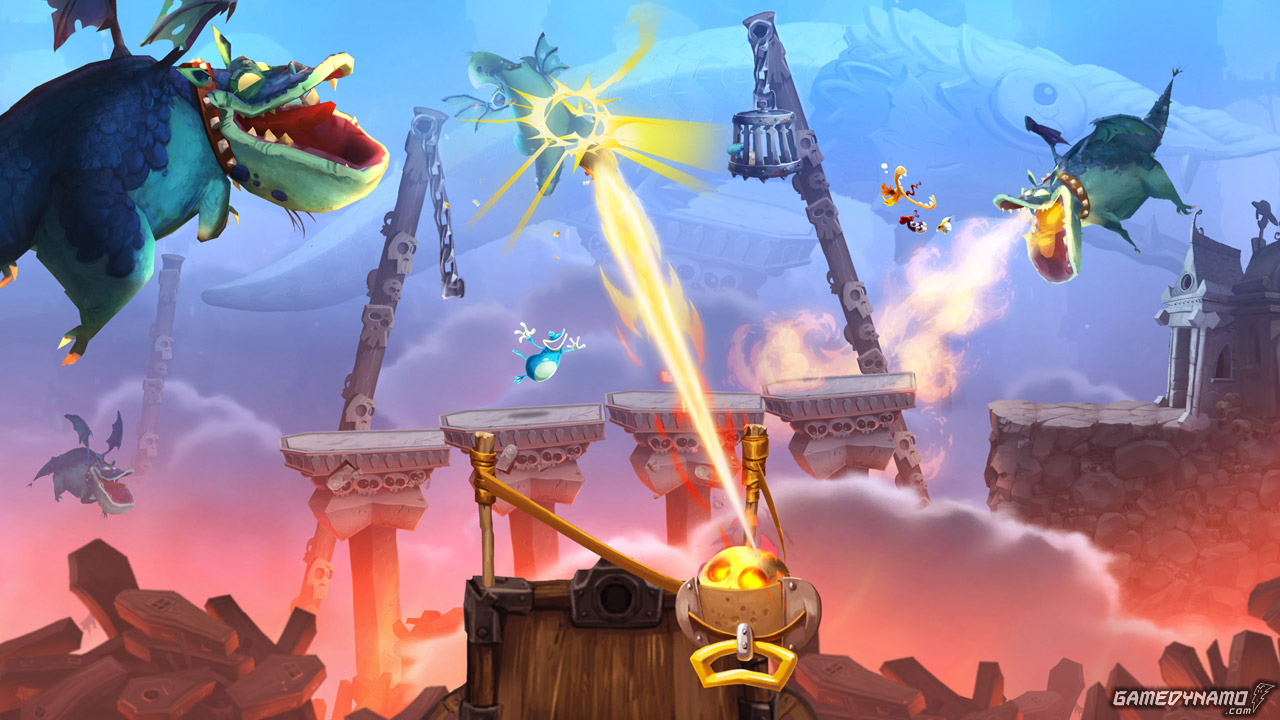 Rayman Legends (Wii U) Hands-On Preview Screenshots