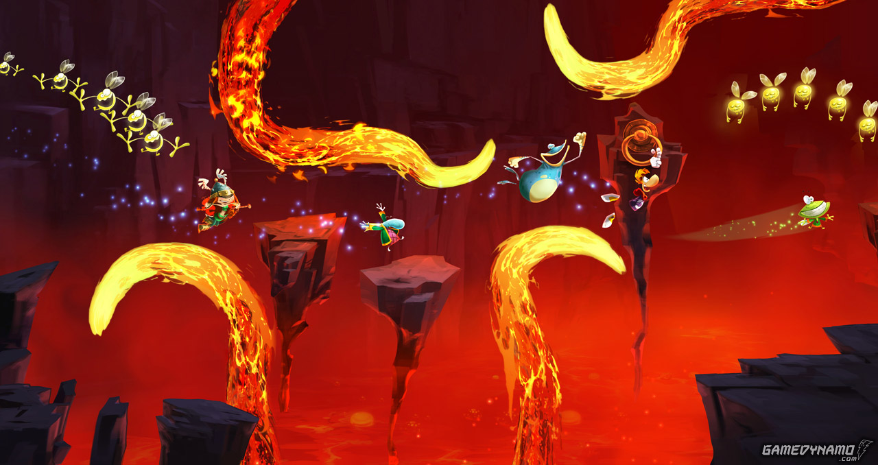 The Wii U update that improves loading times is ready; Wii U Rayman Online Challenges too