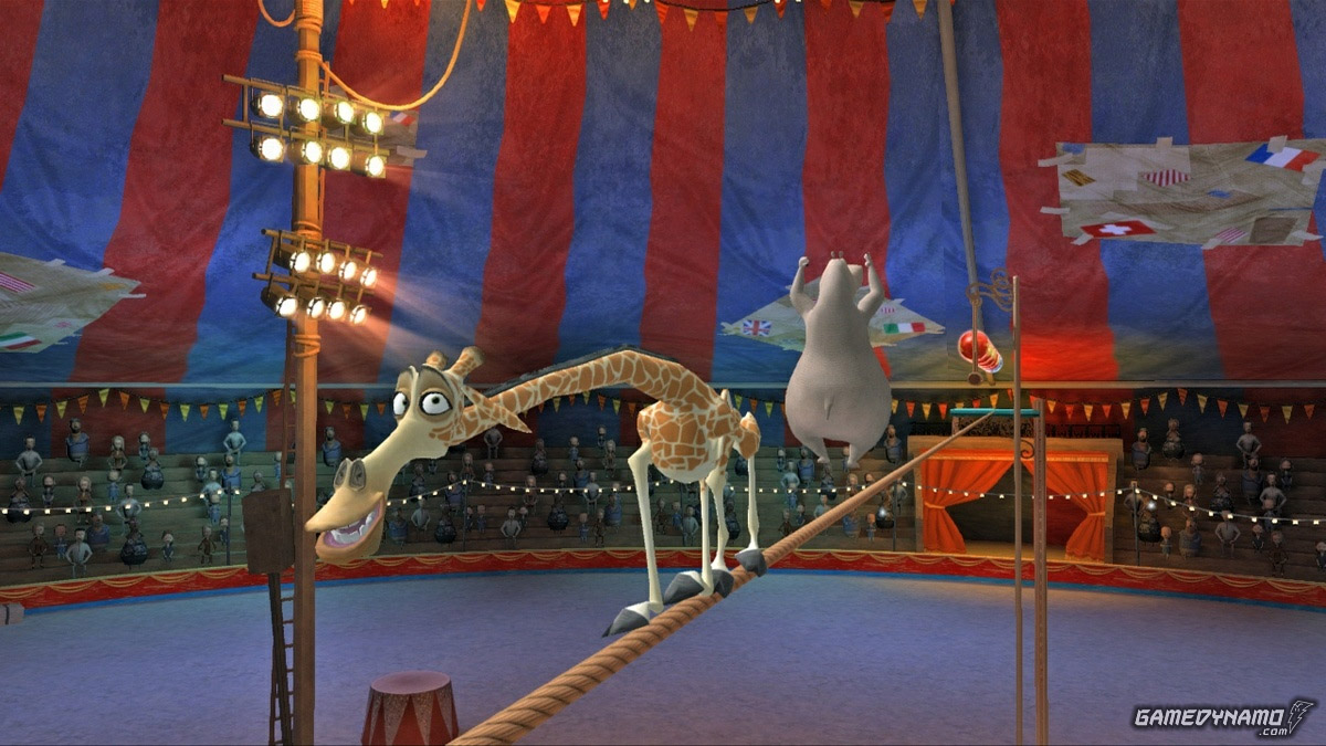 Madagascar 3 (Wii, PS3, Xbox 360) Review Screenshots
