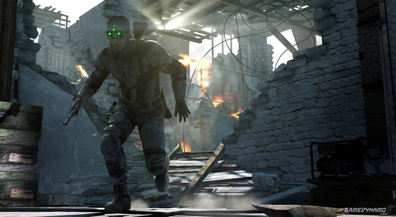 Tom Clancy's Splinter Cell: Blacklist commented gameplay demo and screenshot (PC, PS3, Xbox, 360, Ubisoft)
