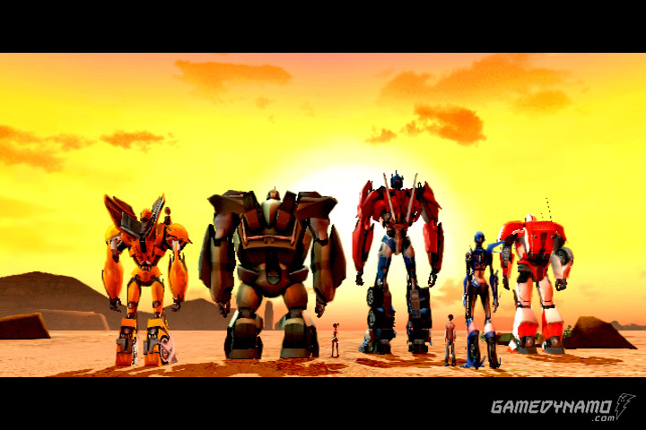 Transformers Prime: The Game (Wii) Review Screenshots