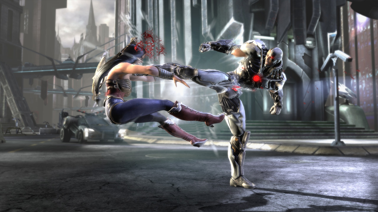 Injustice: Gods Among Us Review Screenshots (PS3, Wii U, Xbox 360)