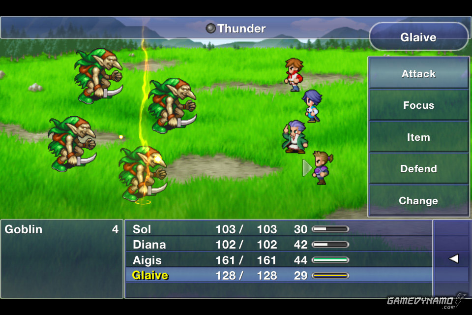 Final Fantasy Dimensions (iPhone, iPad) Review Screenshots
