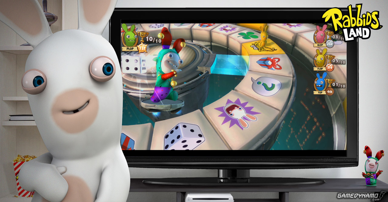 Rabbids Land (Wii U) review screenshots