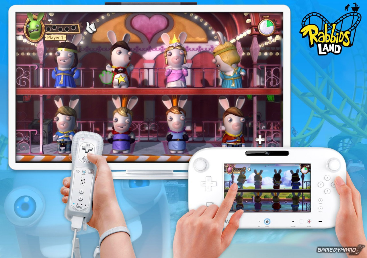 Rabbids LAND (Wii U) Preview Screenshot