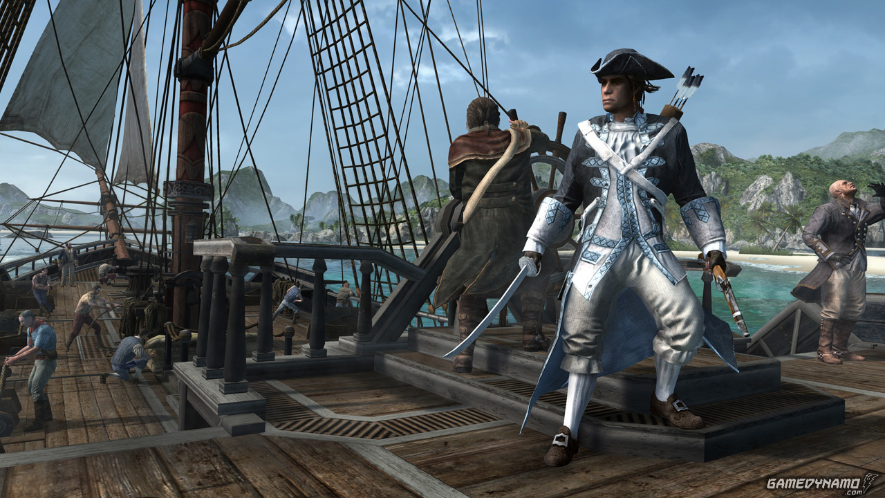 Assassin's Creed III The Hidden Secrets and The Battle Hardened DLC packs now available for the Wii U