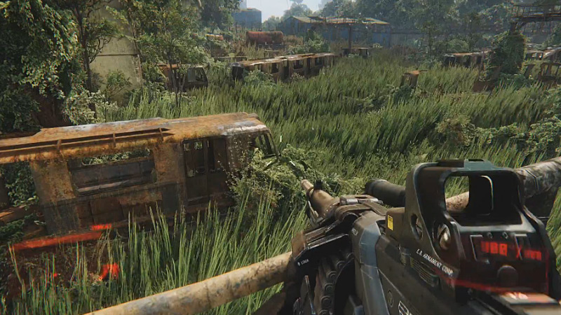 Crysis 3 'The Train Yard' gameplay preview trailer is explosive!