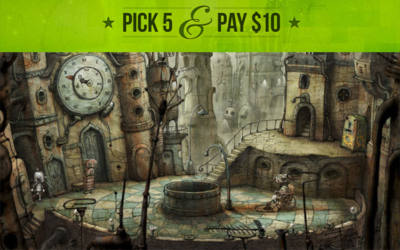 GOG.com's 'Pick 5 & Pay $10' promo delivers Machinarium, Torchlight, Alan Wake's American Nightmare, and 17 more for just $2 each