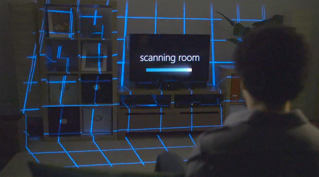 Microsoft IllumiRoom brings a more immersive gaming experience to Xbox; proof-of-concept video inside