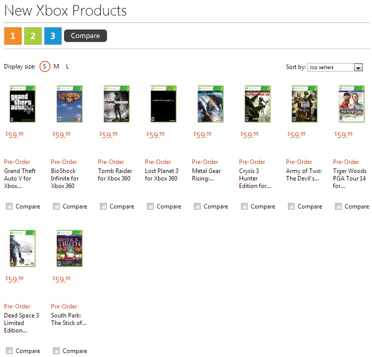 Pre-order Xbox games through Microsoft and get 1600 free MS Points