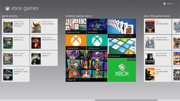 how to download xbox app for windows 8