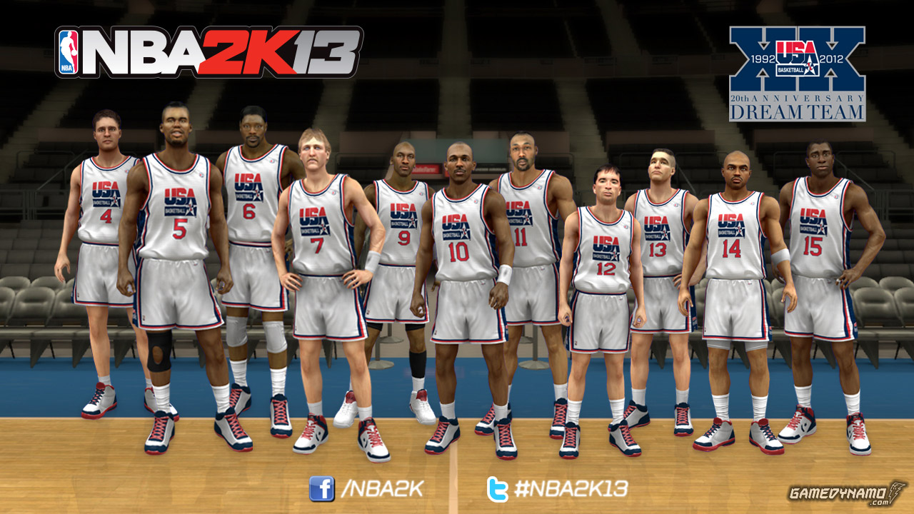 NBA 2K13 1992 US Men's Olympic Basketball Team 'Dream Team' screenshot (Visual Concepts, 2K Sports)