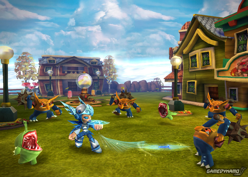 Skylanders Giants (Xbox 360, PS3, 3DS, Wii, Wii U) Review Screenshot