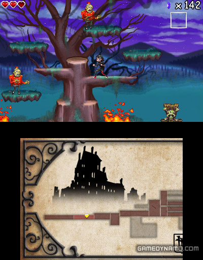 Hotel Transylvania (3DS) Review Screenshots