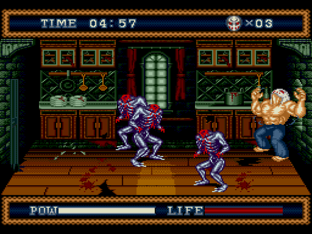 Must Play Horror Games For Halloween - Splatterhouse 3