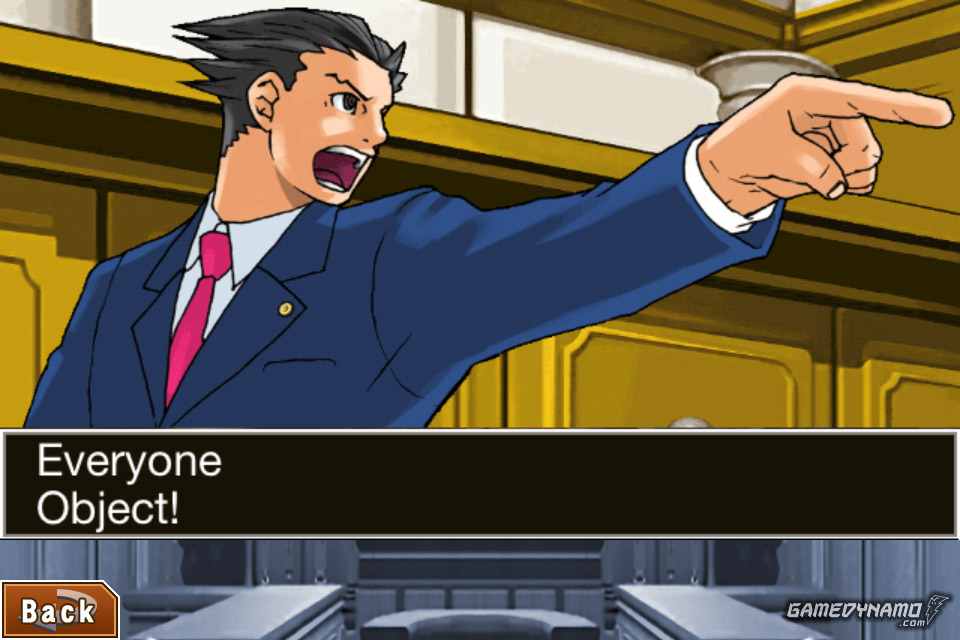 One Game to Play on a Deserted Island - Phoenix Wright: Ace Attorney