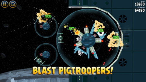 Angry Birds Star Wars (Mobile) Review Screenshot