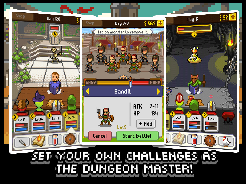 Knights of Pen & Paper (Mobile) Review Screenshot