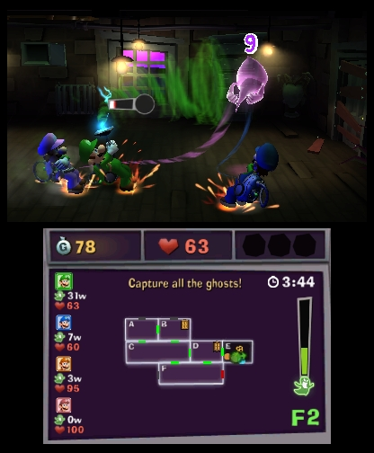 Nintendo reveals new details for Luigi's Mansion: Dark Moon's multiplayer